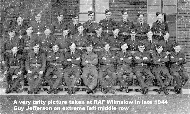 RAF Wilmslow - Recollections - Guy Jefferson